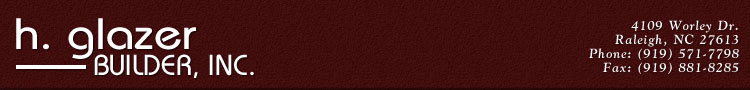 H. Glazer Builder, Inc.